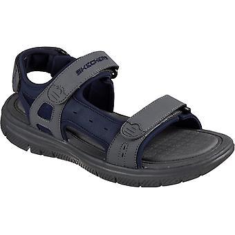 Skechers heren's flex voordeel s upwell zomer sandaal multicolor 32213