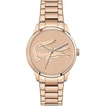 Lacoste 2001172 Women's Ladycroc Rose Gold Tone Bracelet Wristwatch