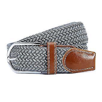 تمتد قماش المنسوجة حزام للرجال / النساء، طول:105cm(No.31 اللون)
