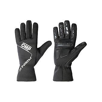 Men's Driving Gloves OMP Rain K Noir