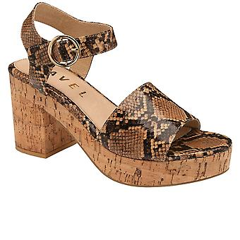 Ravel Etta Womens Heeled Platform Sandals