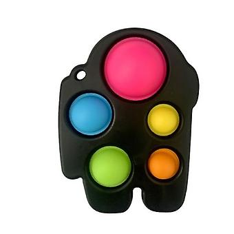 Among Us Push Bubble Fidget Sensory Simple Dimple Autism Needs Anti-stress Stress Relief Toys Early Educational Hand Board Toy