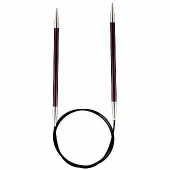 KnitPro Zing: Knitting Pins: Circular: Fixed: 80cm x 3.00mm