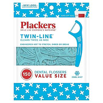 HanFei Twin-Line Dental Flossers by Plackers