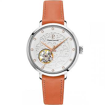 Pierre Lannier Naisten kello kellot 311D625 - Nahka rannekoru ruskea