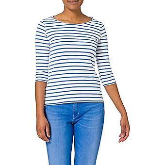 Armor Lux Marini�re ''Guerande T-Shirt, Blanc/Ozero, 46 Donna