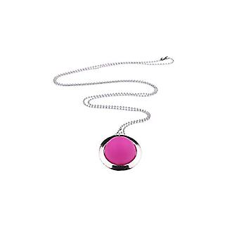 """by - """"Hannah"""" long necklace, with 20 mm Polaris pearls, in a silver-plated ring on a 70 cm ball chain, Ref. 425118864752"""