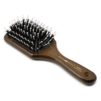 Boar Bristle Paddle Hair Brush 9046