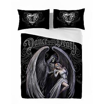 DANCE WITH DEATH -Duvet & Pillow Cover Set UK King/US Queen