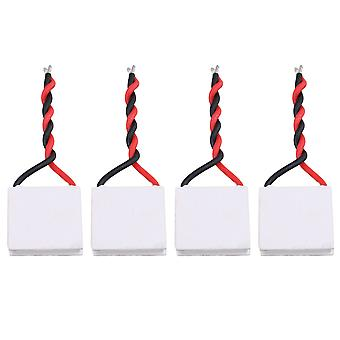 4 x Koellichaam Thermo-elektrische Peltier Koeler TES1-4902 2A 6V 20x20mm Wit