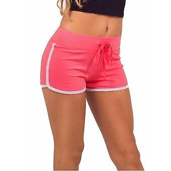 Elastic Waist Loose Casual Yoga Shorts