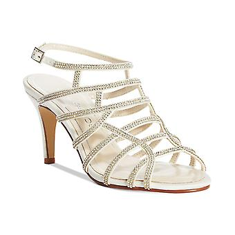 Caparros Womens Harmonica Embellished Caged Evening Sandals