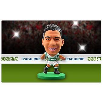 Fotbollsstjärnan Celtic Home Kit Emilio Izaguirre
