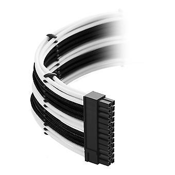 CableMod Classic ModMesh C-Series Cable Kit Corsair RMi RMx & RM (Black Label) - Black/White