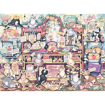 Ravensburger Crazy Cats Mr Catkin's Confectionery Jigsaw Puzzle (500 Teile)