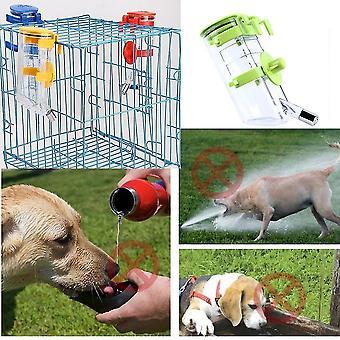 Κανένας κορυφαίος τροφοδότης νερού μπουκαλιών σκυλιών στάγδην δεν πίνει το νερό διανομέα νερού κατοικίδιων ζώων