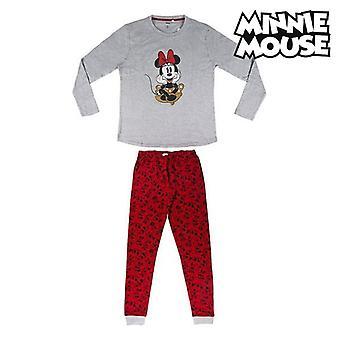 Pyjama Minnie Mouse 74845 Red (2 pcs) Grey