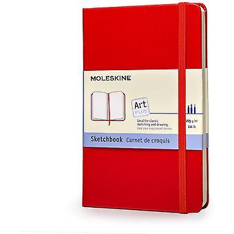 Kreativ-Notizbücher, Skizzenbuch Pocket, Hardcover rot