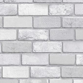 Arthouse Diamond Brick Srebrna Tapeta 669401