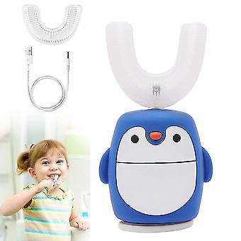 Kinder Elektrische Zahnbürste, Ultraschall Automatische Zahnbürsten mit 360 ° Reinigung (GRUPPE2)