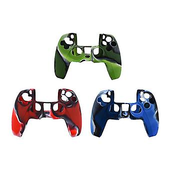 3pcs/lot Silicone Controller Skins Cover Case Anti-slip For Ps5