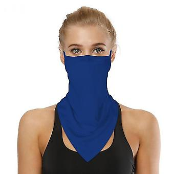 Sports Outdoor Cycling Triangle Bandage Mask Mountaineering Wristband(Blue)