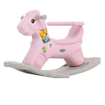 Merisaha ratsastus lelut lapsille (vaaleanpunainen)