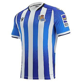 2021-2022 Real Sociedad Home Shirt