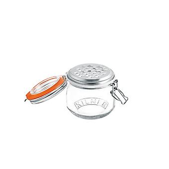 0025.841 Cheese Grater Set with 0.5 Litre Clip Top Storage Jar