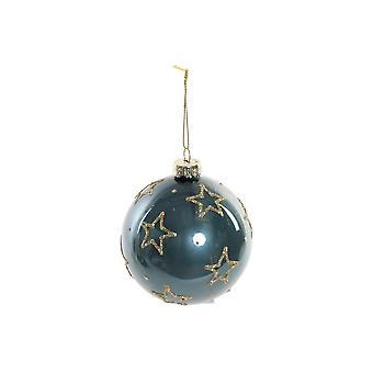 Julen Bauble DKD Hjem Dekor Krystallstjerner (8 x 8 x 8 cm)