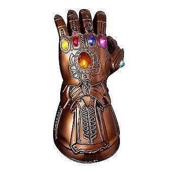 Dzieci zapalają rękawice Thanos Gauntlet Rekwizyty na Halloween Cosplay