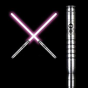 Star Wars Lightsaber,rgb 11 Color Changes The Luminous Sword,metal Sword,cosplay Gift Toy Sound, Obi Wan Kenobi Lightsaber(65cm Blade)