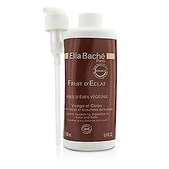 Ella Bache Frutta D'eclat Olio vegetale risveglio organico per faccia & Corpo (salone Prodotto) - 500ml/16.9once