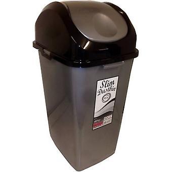 50 Ltr Slim Mülleimer Ideal für den Einsatz in der Küche