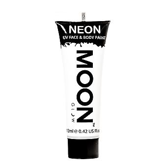 Moon Glow - 12ml Neon UV Face & Body Paint - White