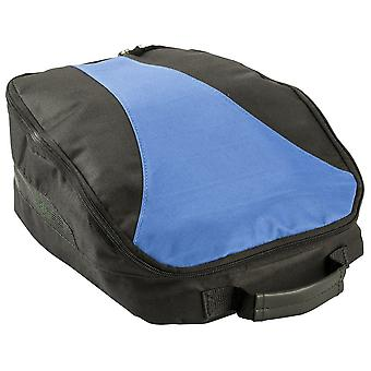 IZZO Golf Shoe and Accessories Storage Bag - Black/Blue