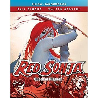 Red Sonja: Queen of Plagues [Blu-ray] USA import
