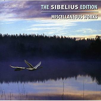 J. Sibelius - The Sibelius editie, Vol. 13: Diverse werken [CD] USA import