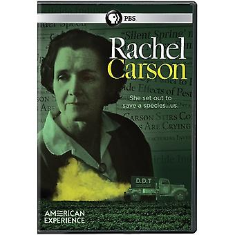 Amerikanische Erfahrung: Rachel Carson [DVD] USA importieren