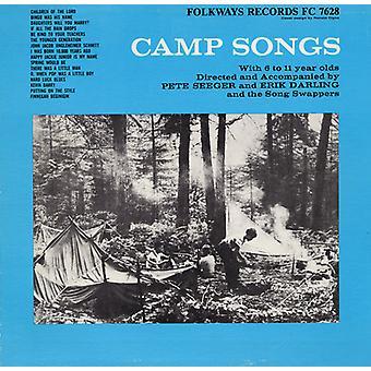 Canción Swappers - campamento canciones [CD] USA importar