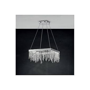 Eglo Antelao Crystal Square Floating Ceiling Pendant