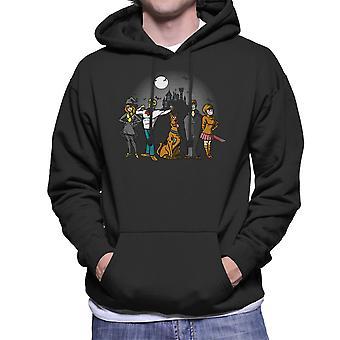 The Mystery Bunch Scoobie Doo Men's Hooded Sweatshirt