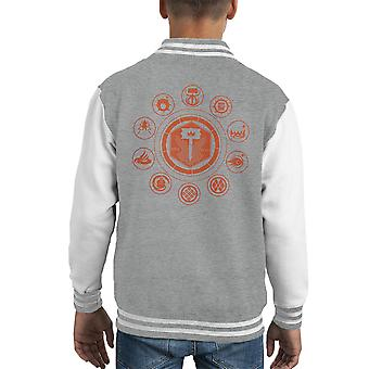 Sun Breaker Destiny Kid's Varsity Jacket