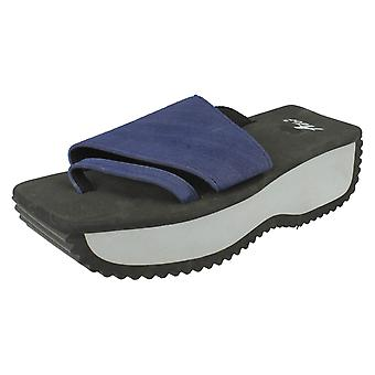 Ladies Ador Comfort Foam Flatfom Sandals