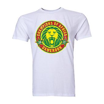 Cameroon African Nations Winners T-Shirt (White) - Kids