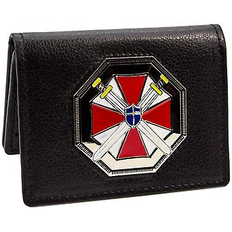Resident Evil Umbrella Biohazard ID Card Holder BiFold Wallet