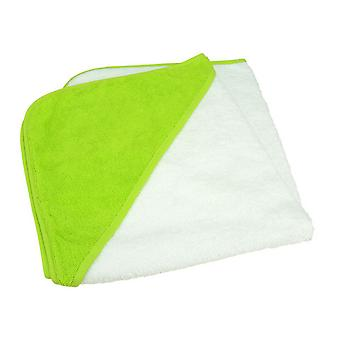 A&R Towels Baby/Toddler Babiezz Medium Hooded Towel