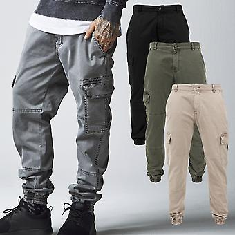 Urban classics - washed cargo Twill leisure pants