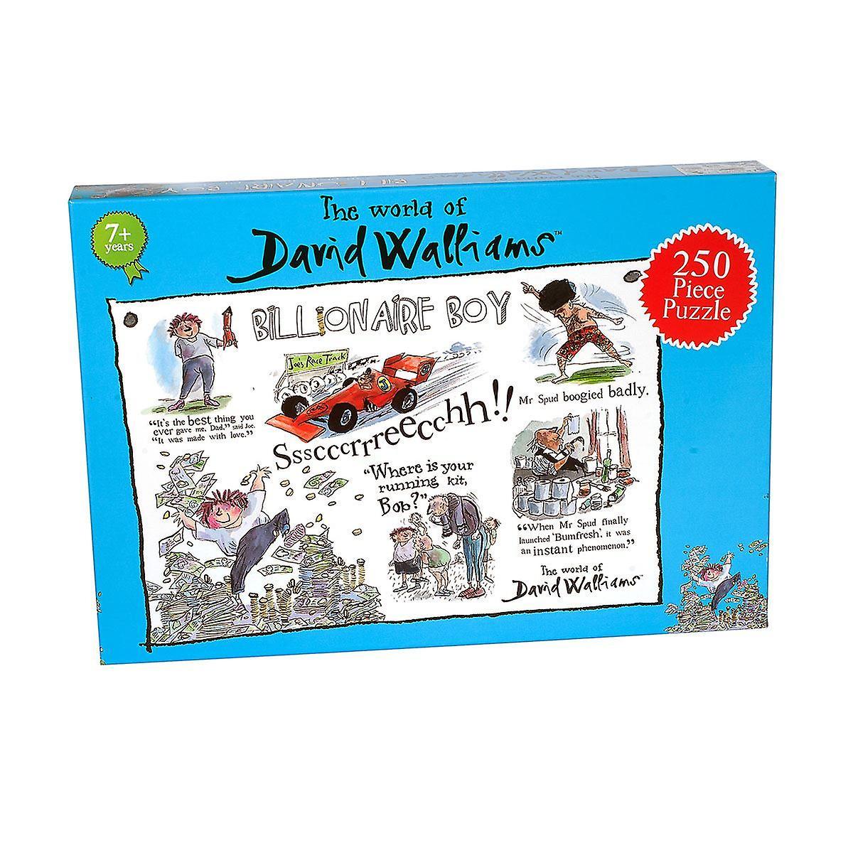 David Walliams - 250 Piece Jigsaw Puzzle