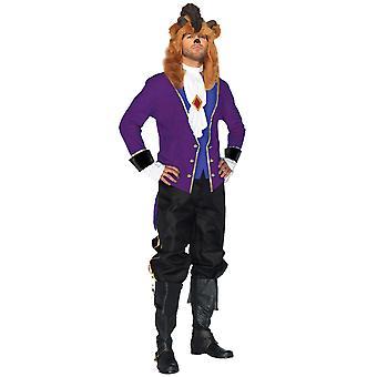 Sprookje Prins Belle en het beest Disney prinses verhaal boek Mens kostuum